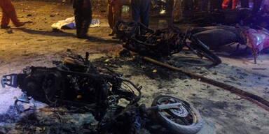 Zahlreiche Tote bei Anschlag in Bangkok