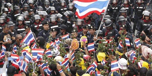 Proteste in Thailand eskalierten