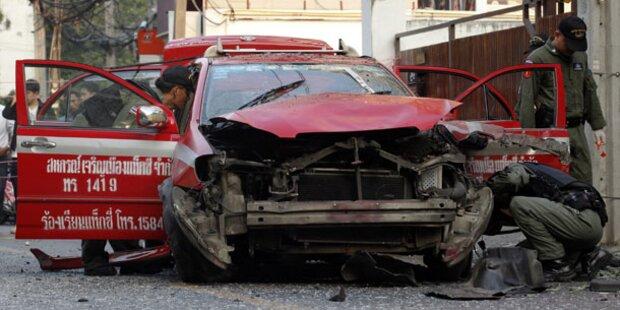 Bomben in Bangkok: Iraner verhaftet