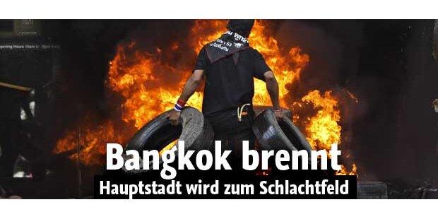 Bangkok wird zum Schlachtfeld