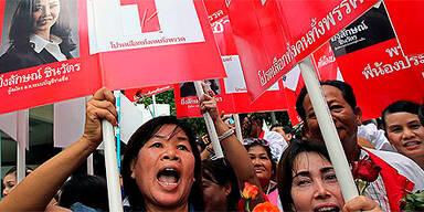 Proteste in Bangkok