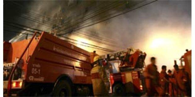 Ein Toter nach Brand in Bangkoker Einkaufszentrum