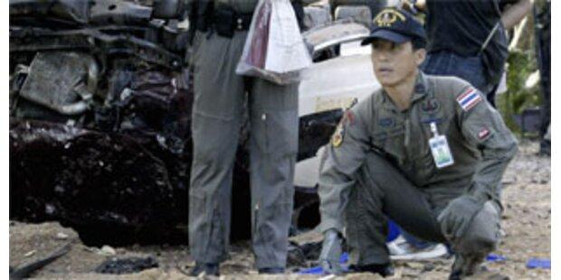 Kopf eines Ausländers in Bangkok entdeckt