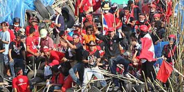 Lage in Bangkok spitzt sich immer mehr zu