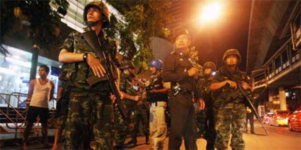 Zwei Polizisten in Bangkok getötet