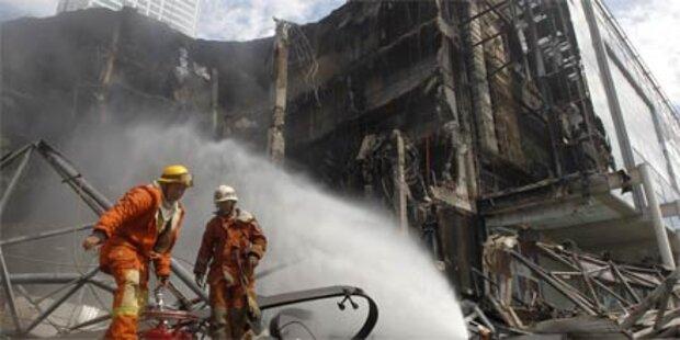 Explosion bei TV-Sender in Bangkok