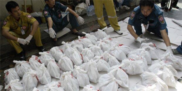 2.000 Föten in Bangkoker Tempel gefunden