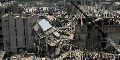 Hauseinsturz in Bangladesch