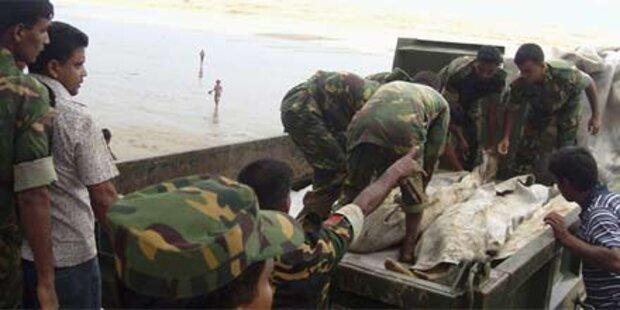 Dutzende Tote bei Erdrutsch in Bangladesh