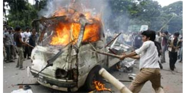 Ausgangssperre in Bangladesch