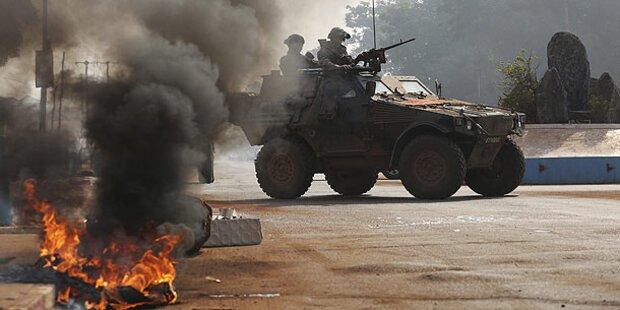 EU beschloss Militärmission in Zentralafrika