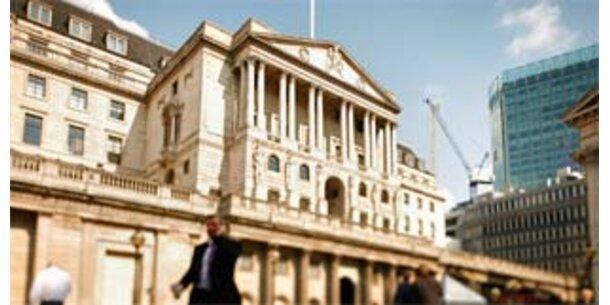 Bank of England pumpt Milliarden in den Markt