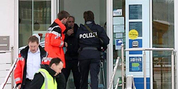 Banküberfall mit Geiseln in Vorarlberg