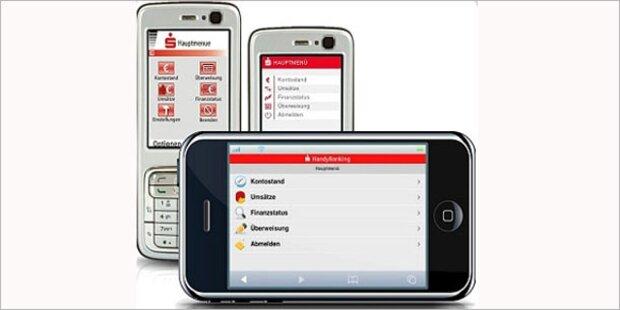 40 Prozent nutzen Mobiles Banking