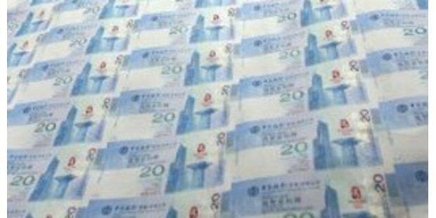 Polizei beschlagnahmte elf Millionen falsche Euro