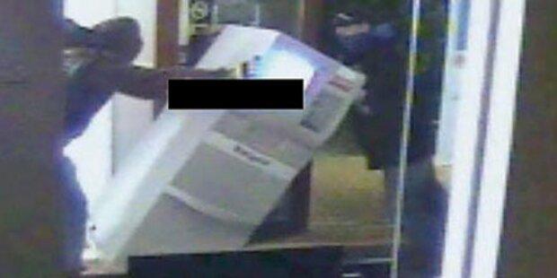 Bankomat in Supermarkt gestohlen