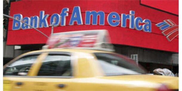 Bank of America scrhreibt rote Zahlen
