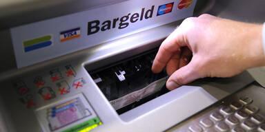 Bankomat-Diebe zwei Mal gescheitert