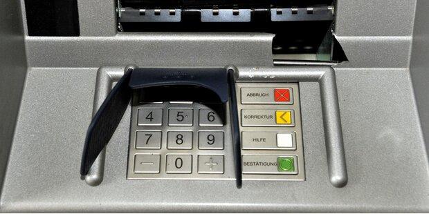 Bankomat in Salzburg gesprengt - landete in Kreisverkehr