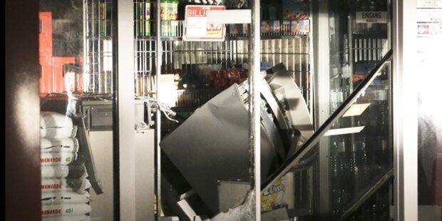 Bankomat-Coup ohne Beute