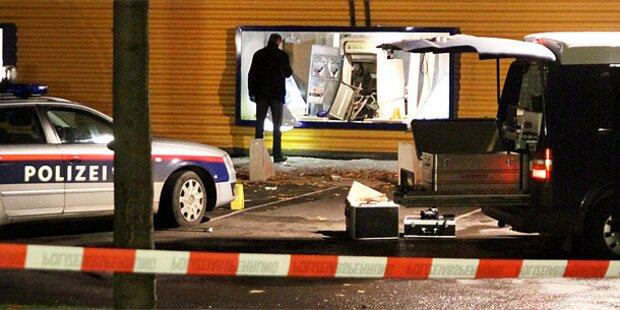 Wieder Bankomat in Oberösterreich gesprengt