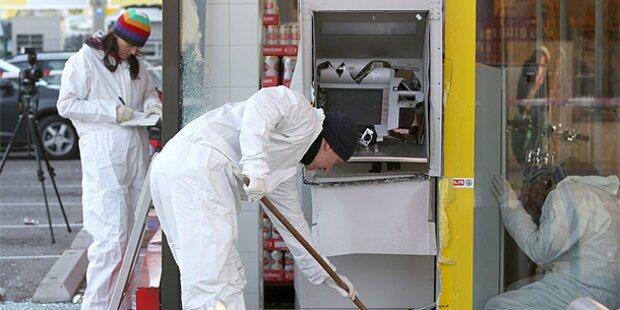 Bankomat in Wien gesprengt