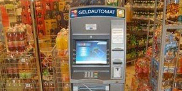 Bankomat für Diebe zu stark