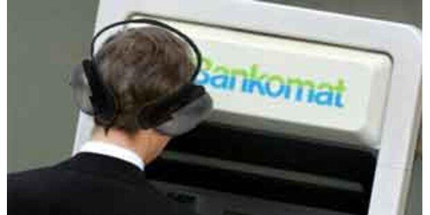 Erster Bankomat für Blinde