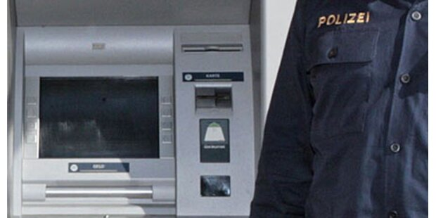 Dieb wollte Bankomat klauen - geschnappt