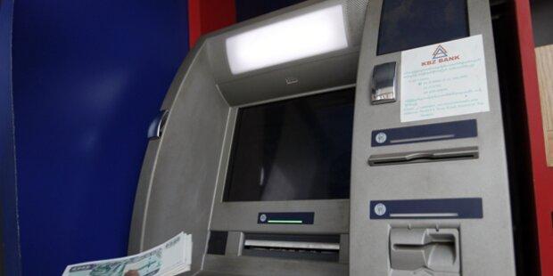 Bankomat-Diebe im Burgenland gescheitert