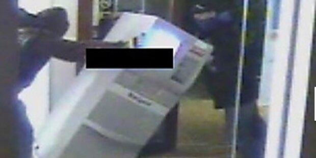 Bankomat aus Supermarkt gestohlen