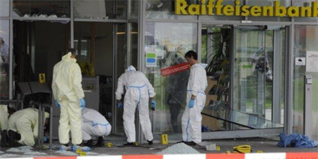 Bande sprengt Bankomaten in NÖ