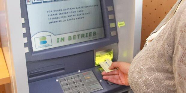 Bankomat spuckte Tausende Euro aus