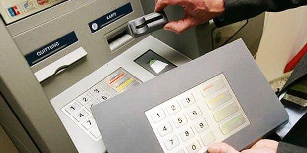 2 Bankomat-Betrüger gefasst