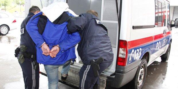 Polizei schnappt Bankräuber