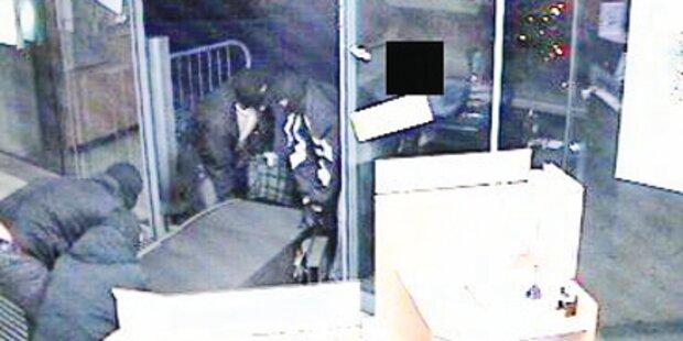 Gestohlenen Bankomat und Fluchtauto entdeckt
