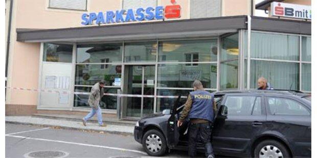 Bewaffneter Täter stürmte Bank-Filiale