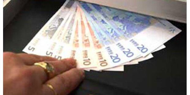 Deutsche boten Dollar-Blüten Bank in Vorarlberg an