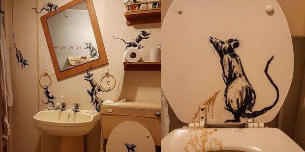 Banksy Badezimmer