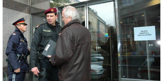 Geflohener Strafgefangener verübte Bankraub