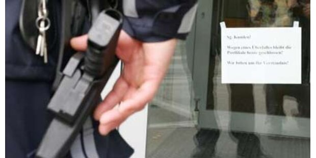 Bewaffneter Banküberfall in Salzburg