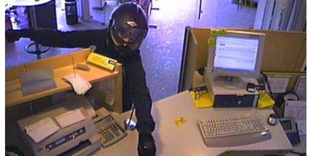 Polizei jagt zwei Bankräuber