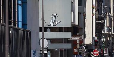 Banksy-Werk vor Centre Pompidou gestohlen