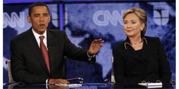 Clinton und Obama mit sanfteren Tönen