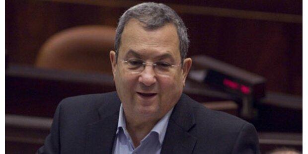 Barak: Kein Anlass für Nahost-Krieg