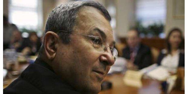 Mahnwache gegen Wien-Besuch von Barak