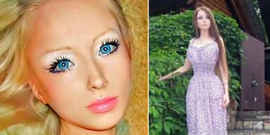 """Menschliche Barbie: """"Ich lebe von Licht und Luft!"""""""