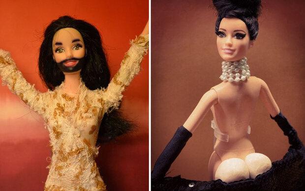 Diese Barbie macht auf Kim & Co.
