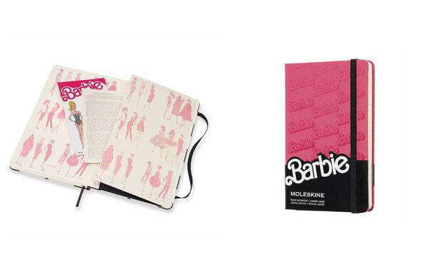 Moleskine meets Barbie