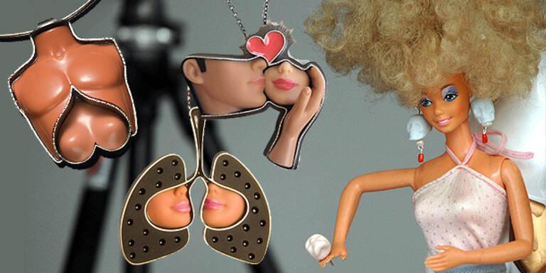 Schmuck aus recycelten Barbies